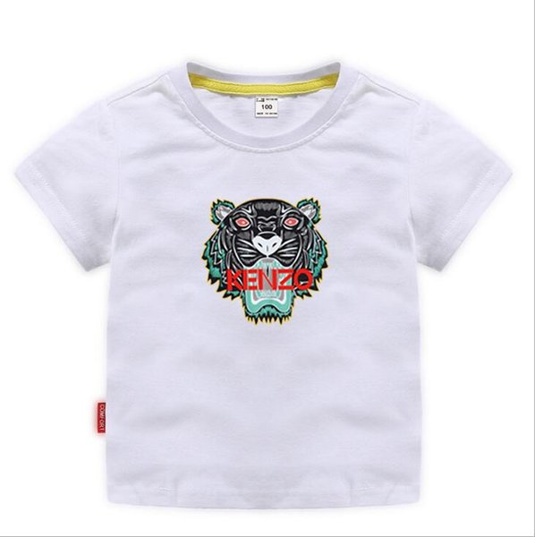 best selling 2019 Kids Designer Clothes Girl Baby Boy Fashion Print Cotton Clothes Designer Mens Designer T-Shirt Breathable Fashion Brand Luxury 2-8T