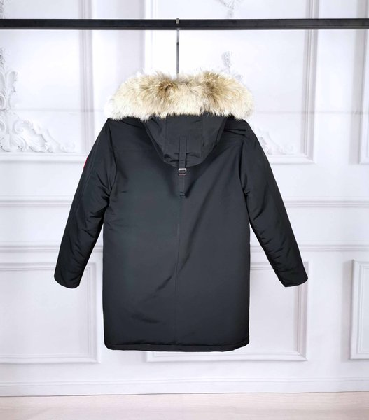 winter mens parka jacket canada goosedown luxury langford down jacket fashion simple outdoor windproof thick warm coat womens