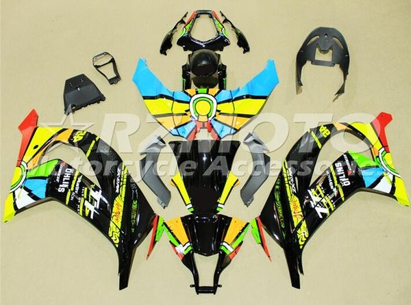 Nuevo ajuste de carenado de inyección de ABS para KAWASAKI Ninja ZX 10R ZX10R 11 12 13 14 15 ZX-10R ZX10 R 2011 2012 2014 2014 2015 carenados estilo cool