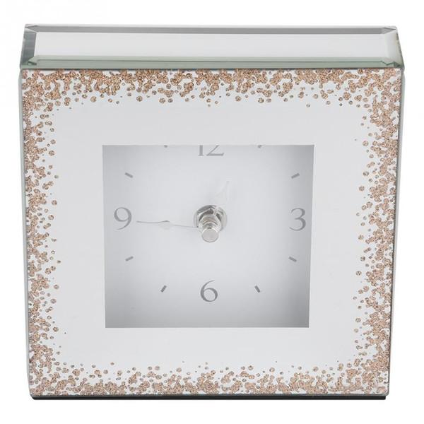 Orologio da scrivania quadrato in stile europeo Salotto per la casa Mobili TV Arredamento Decorazione Di buona qualità