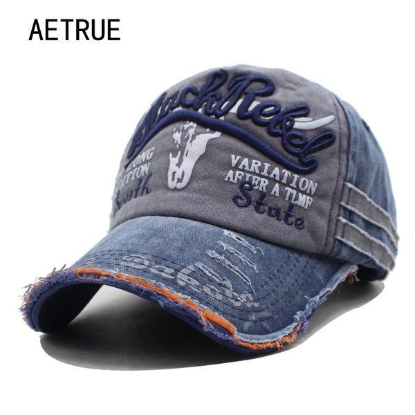 AETRUE Marca Hombres Gorras de Béisbol Papá Casquette Mujeres Snapback  Gorras Hueso Sombreros Para Hombres Moda d069ee752c2
