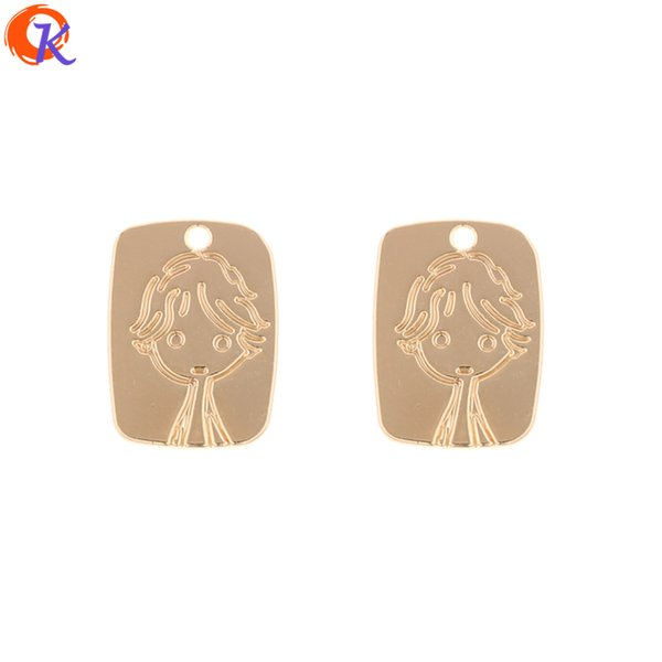 wholesale 100Pcs 13*18MM Jewelry Making/Earring Accessories/DIY/Square Shape/Earring Connectors/Hand Made/Earring Findings