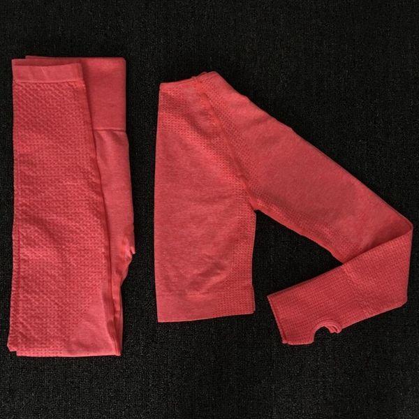 conjunto rojo de 2 piezas