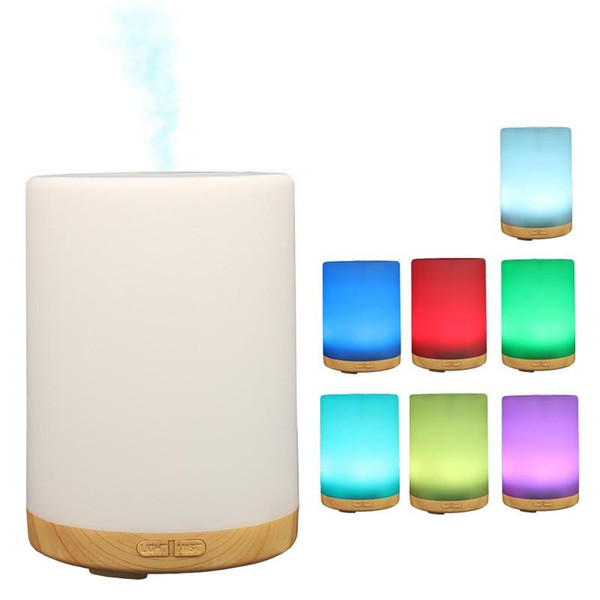 Mini Ultrasonic Light Essential Oil Diffuser Led Light Changing Color Humidifier Office Home Bedroom Creative Aromatherapy Machine 48lb jj