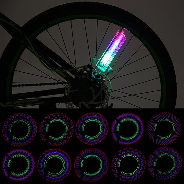 1Pc 32 Led Flash Spoke Wheel Light New 30 Kinds Flash Riding Safety Bike Cycling Bicycle Tire Valve