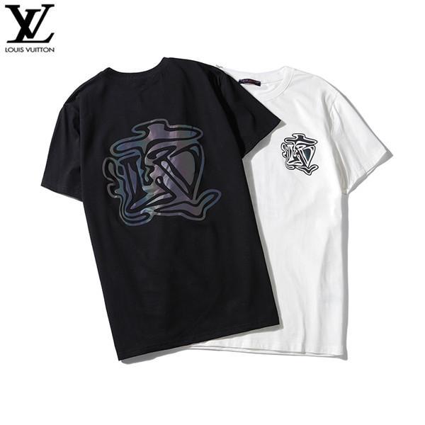 curto 2020 novos homens de mangas compridas T-shirt pólo bordado para o algodão dos homens do polo homens luxo camisa de manga curta 04
