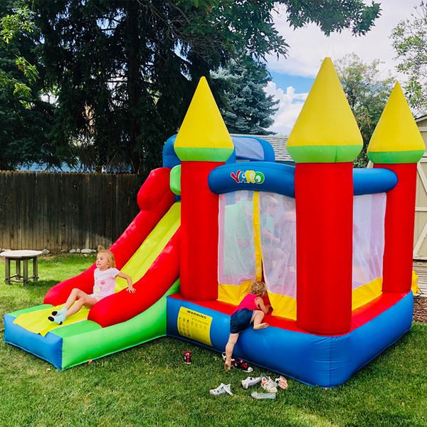 YARD Backyard PVC Tarpaulin Inflatable Jumping Castle Bounce House for Kids