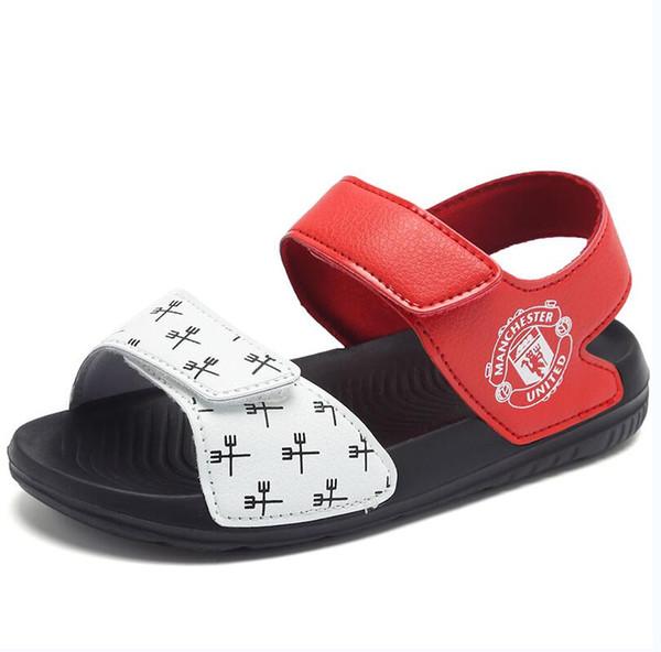 Compre Sandalias Para Niños 2019 ADIDAS Verano Nuevo Patrón Zapatos Para Niños Magia Suave Fondo Caucho Antideslizante Princesa Pequeña Zapato