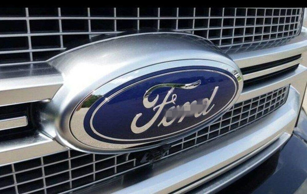 "best selling Ford Front Grille Tailgate Emblem, Oval 6""X2.4"", Dark Blue Decal Badge Nameplate for 07-10 Edge, 05-11 Escape, 06-10 Explorer, 05-11 Expedit"