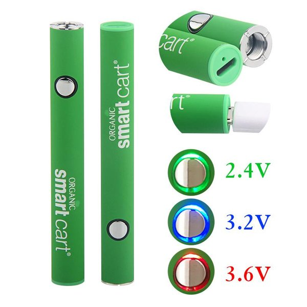best selling Smart Cart Battery Vape Pen 510 Thread Cartridges 380mah Variable Voltage Preheating Battery With USB Charger not Vision Spinner