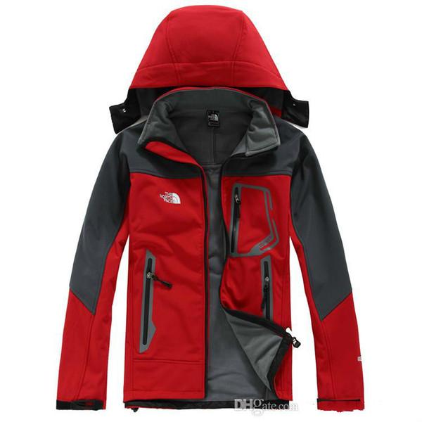 2019 망 북쪽 Denali 양모 Apex Bionic Jackets 실외 방풍 방수 캐주얼 SoftShell Warm Face Coats Ladies