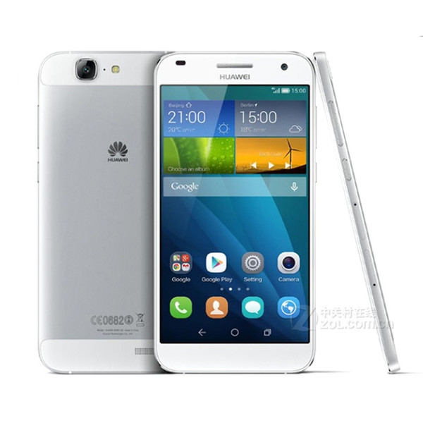 Reacondicionado Huawei G7 4G LTE 5.5 pulgadas Android 4.4 Smartphone Quad Core 2GB RAM 16GB ROM Dual SIM MobilePhone FDD
