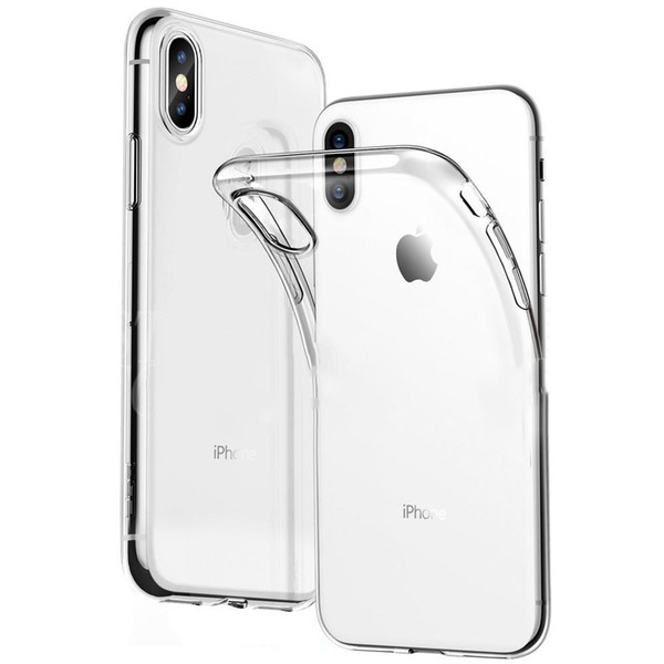 iPhone 11 Pro Max XR XS MAX X 7/8/6 için Ultra İnce TPU Kılıf artı 10 S10 / S9 / S8 Artı P20, P30 Pro Silikon Yumuşak Kapağı Not