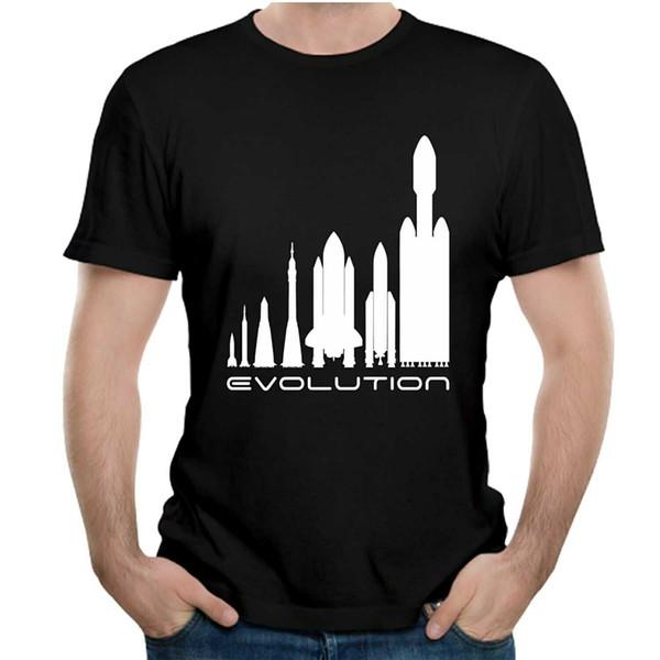 X del espacio camiseta Elon Musk camiseta casual Tesla camisetas Camiseta de moda de calidad superior Camiseta