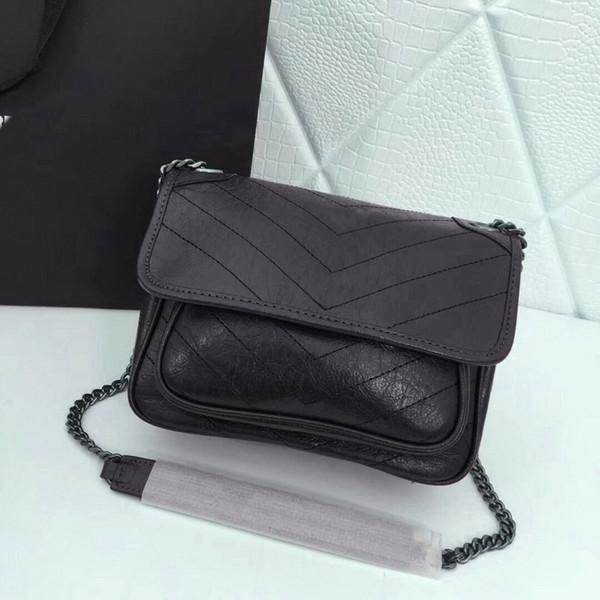 High quality fashion ladies Messenger bag retro shoulder bag ladies handbag designer leather ladies handbag classic shoulder bag