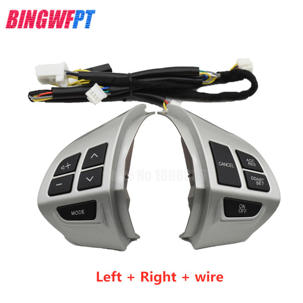 best selling Car steering wheel control buttons with wire for Mitsubishi Lancer EX10 Lancer X Outlander ASX Colt Pajero Sport