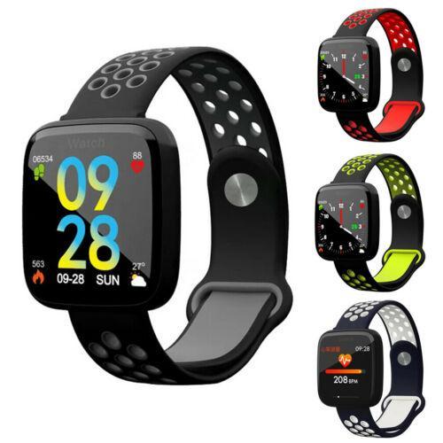 Su geçirmez Erkek Spor Akıllı İzle Nabız Kadınlar Spor Tracker Bluetooth Smartwatch Bant Bilezik İçin Android iOS