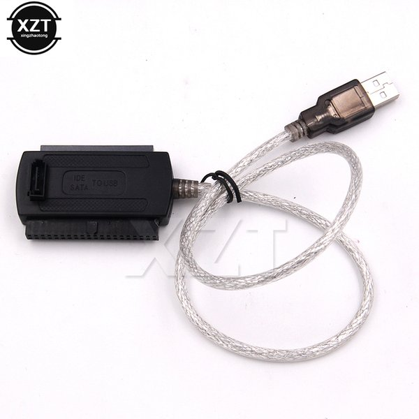 NEW USB 2.0 to IDE SATA 2.5 3.5 HARD DRIVE CONVERTER CABLE ADAPTER US SELLER