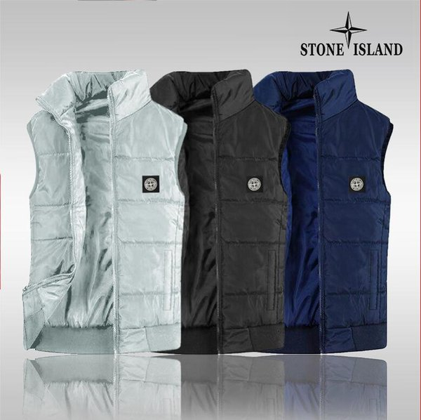 2019 new Vest men's new fashion zipper autumn and winter warm sleeveless jacket vest men's vest fashion casual jacket men's wind jacket