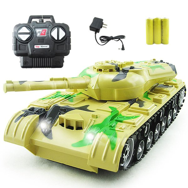 Hot Sale RC Tank Desert Blue Green Color Military toy model Radio Control Tank Need 3 Batteries