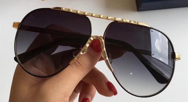 gold grey lens