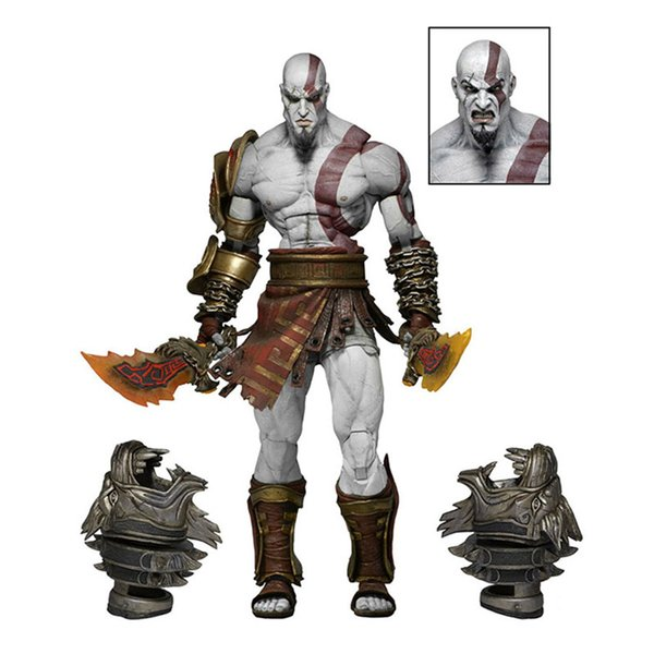 Anime 1/8th Scale God Of War Kratos Ghost Of Sparta Variant Action PVC Figure Toy Brinquedos 18CM