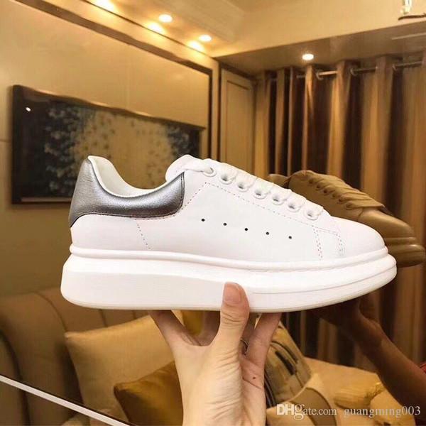 lusso stilista stan uomini donne scarpe da ginnastica in pelle migliore qualità delle scarpe casuali Pattini degli addestratori economici xrx190403103