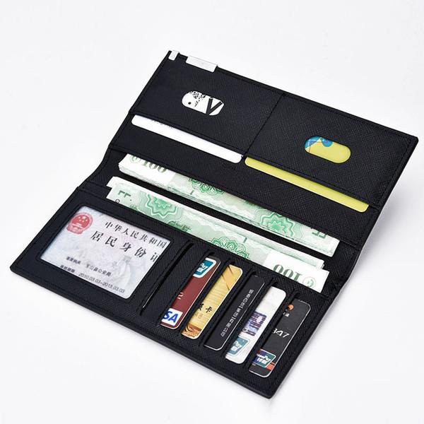 Slim Wallet Men Thin Wallet Men Leather Purse Soft Men Wallets Brand Male Clutch Money Bag Small Pocket