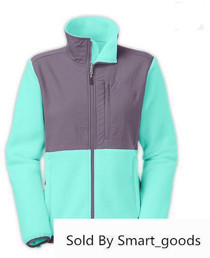 Womens Winter Fleece Jackets Coats Outdoor Windproof Breathable Jacket Black White Face Ladies Coats 15 S-xxl North