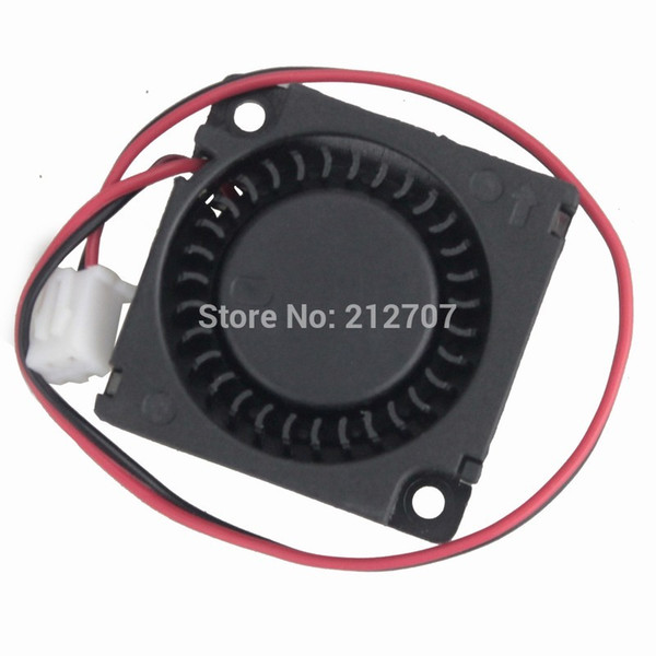 100 pieces 12V 3cm 30mm Blower Fan Black Brushless DC Cooling Blower Fan 3D Printer High Speed Sleeve Bearing