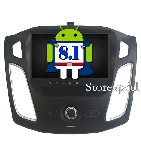 GPS Navigation System Android 8.1 Car DVD Player for Ford Focus 2012-2015 Car Radio RDS Stereo 4G WIFI SWC free map