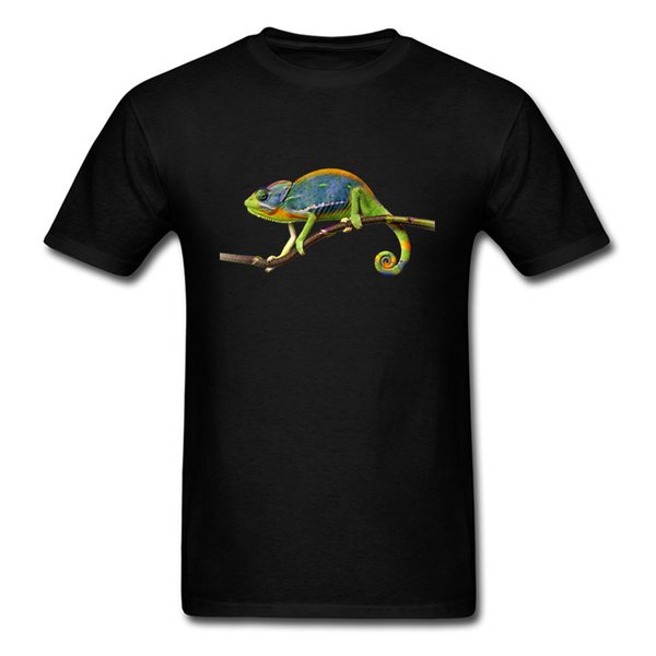 Camarade grincheux 2019 Cool Hommes T-shirt noir 3d Animal Print O Cou Cou T-shirt À Manches courtes Funny Group Sweat-shirt