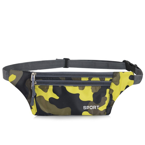 Running Waist Bag Multi Functional Ultra-thin Water Resistant Adjustable Storage Pouch Outdoor Running Accessories