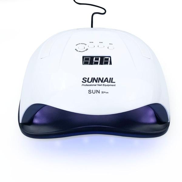 Sun x plus 80W UV LED Lámpara de uñas Lámpara UV Luz solar Máquina de secado de gel de uñas Uñas Equipo de curado Herramienta de arte de uñas