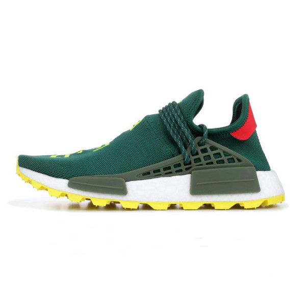 Günstige Human Race Pharrell Williams Laufschuhe Creme Nerd Solar Pack Afro Hu Gleichheit Herren Damen Trainer Sport Sneakers-dqw651d65as132x1a