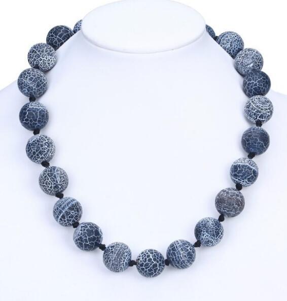 FRETE GRÁTIS Fábrica de moda direto pedra natural colar curto jóias