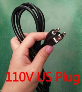 US Plug 110V com 2 cabos