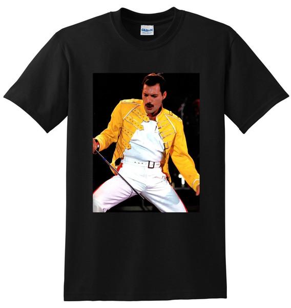 Maglietta Freddie Mercury, cantante inglese, t-shirt Classic Quality High consegna gratuita