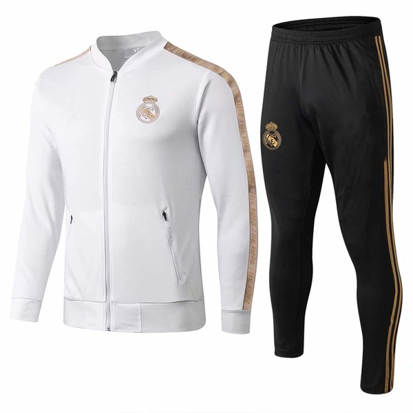 new 2019/2020 Real Madrid tracksuit adult soccer chandal Maillot De Foot tracksuit 2019/20 adult training suit survêtement Sportswear