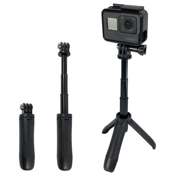 Handheld Mini tripé selfie vara extensível monopé para GoPro 7 6 5 4 3 + SJCAM Xiaomi YI 4k EKEN H9 Sony Esporte Camera