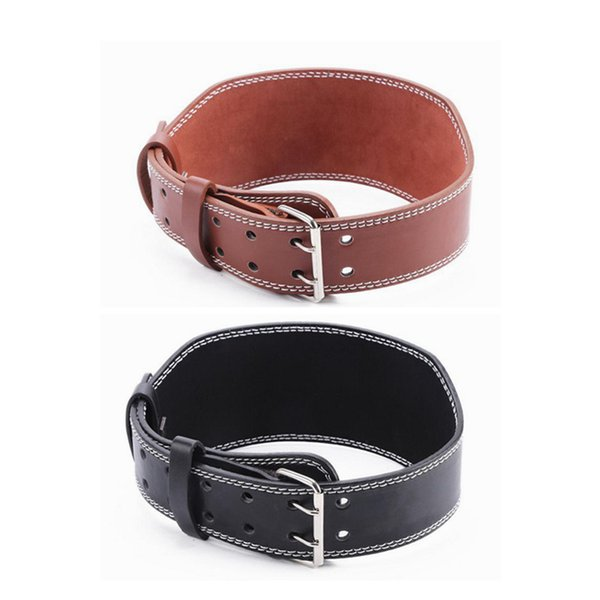 Weight Lifting Belt Gym Fitness Wide Back Support Training Equipment Weights Belt for Gravity Training Fitness squat sports belt ZZA484