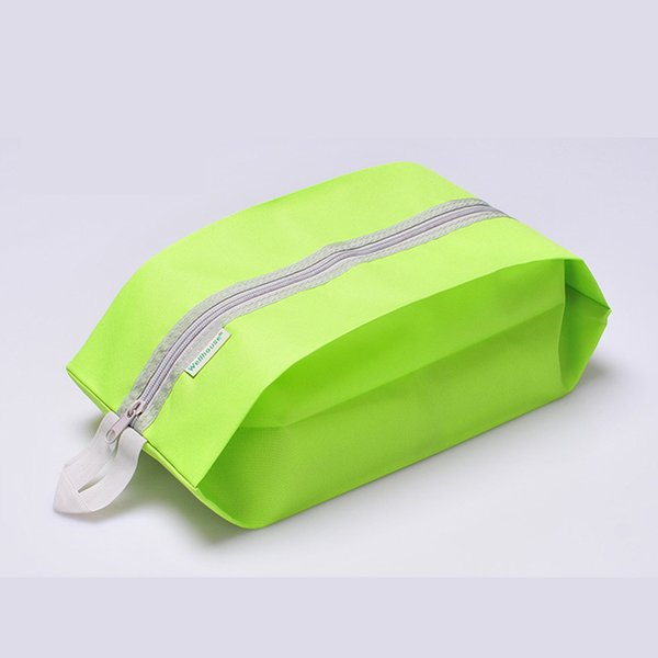 Bolsa de cosméticos portátil de moda Bolsas de zapatos simples Bolsas de lavado de viaje Polvo de acabado Logotipo personalizado Muebles para el hogar WH-00366