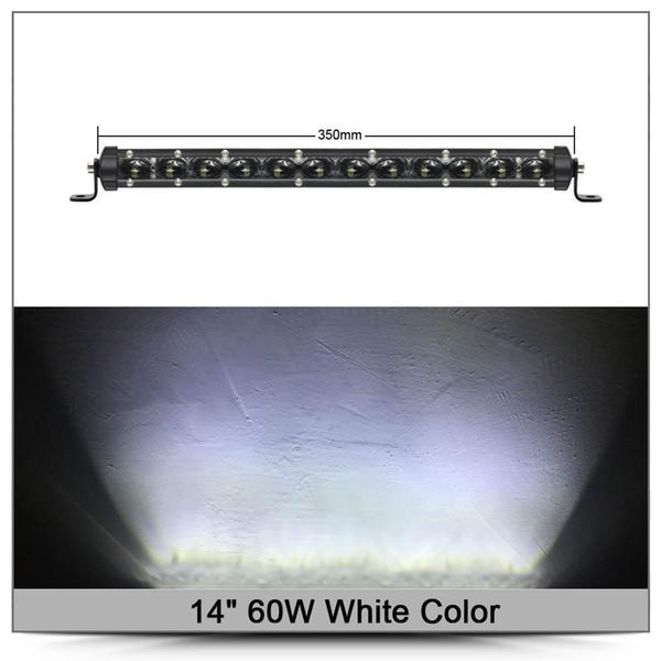 14 # 039؛ # 039؛ 60W الأبيض X1