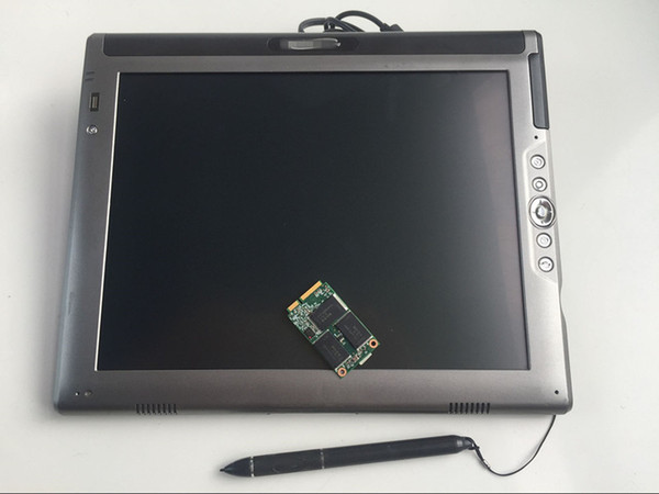 Top quality le1700 c5 tablet (L7400 4g) for car diagnosis with 240gb mini ssd super tool works for mb star c4/c5