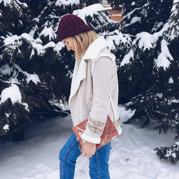 New 2018 Silhuette Suede Chaqueta De Time Cuero Mujer Compre Winter 7gbyf6