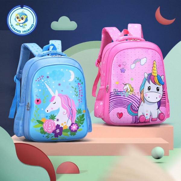 best selling Hunan backpack cartoon cute children schoolbag for primary school students grade 1-3 burden reduction boy backpack