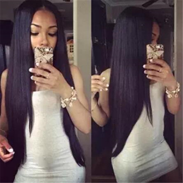 Human Hair Wig With Baby Hair Brazilian Virgin Hair Full Lace Wigs Natural Hairline Lace Frontal Wig For Black Women With Pre Plucked