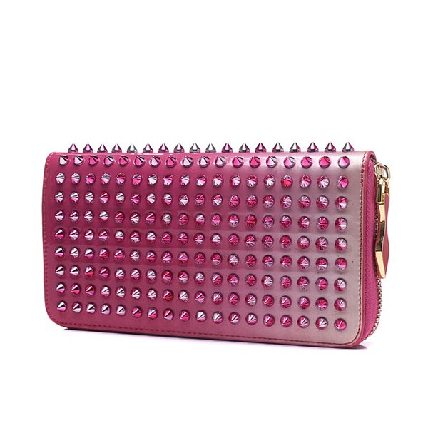 de6cef35d6b Christian Louboutin CL Fashion Classic Brand Women'S Full Nail Jewelry  Solid Sequins Hand Hotsale Party Wallet Ladies A2 Womens Purses Women Bags  From ...