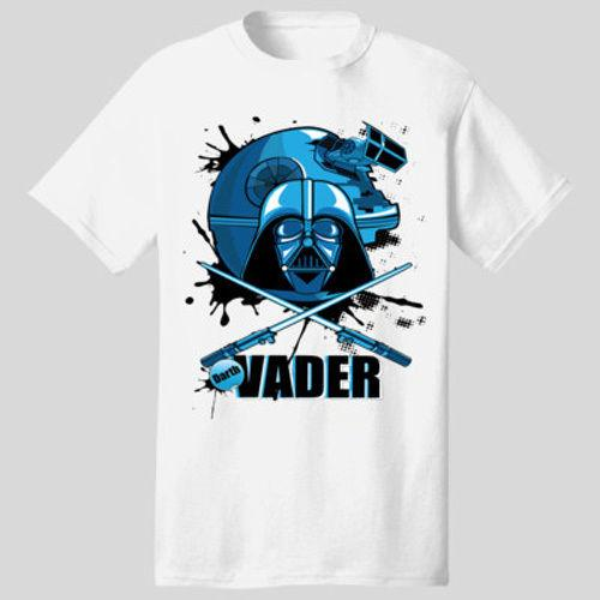Wholesale New Design Darth Vader *Death Star* Mask T-Shirt *Many Options* Tee Shirt For Men Costume Custom Short Sleeve Valentine's Big Size
