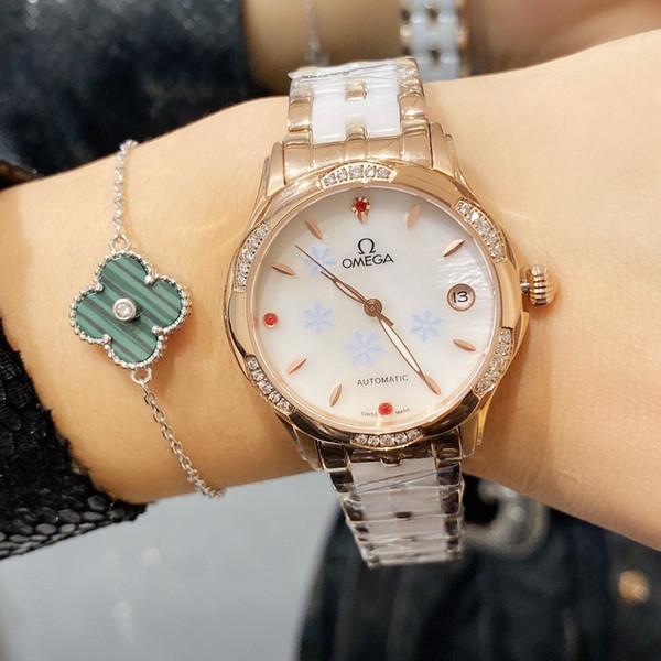 Высокое качество горячего сбывания Любят смотреть Водонепроницаемые наручные часы Новый Modell моды класса люкс Повседневный марка автоматические механические часы LL1217044